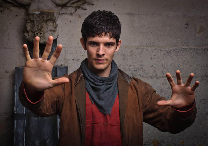 Colin Morgan: 'Everything's on Merlin's shoulders'