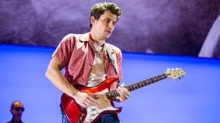 John Mayer performs live
