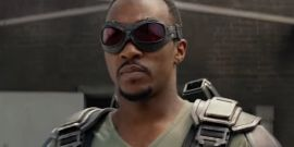 Anthony Mackie Is All Superhero Swagger Smoking A Cigar Wearing Falcon Costume In BTS Pic