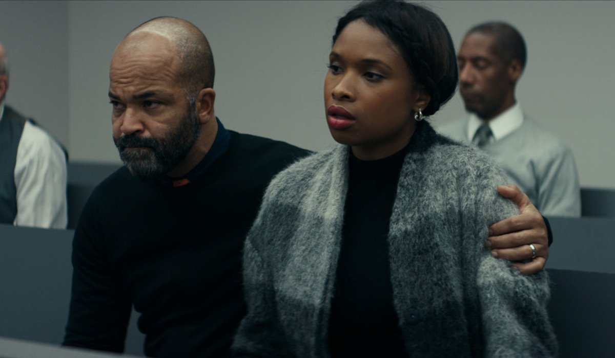 All Rise Jeffrey Wright tries to comfort Jennifer Hudson in court