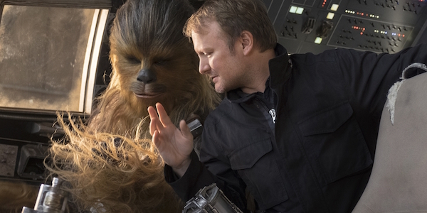 Rian Johnson Chewbacca