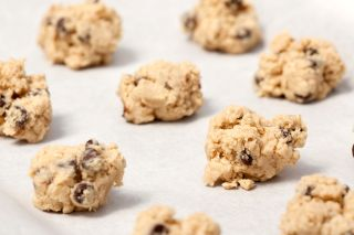 cookie dough, raw cookie dough, unbaked cookie dough