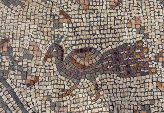 A newly discovered ancient mosaic may depict one of jesus' most famous miracles.