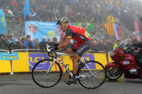Lance Armstrong, stage 17, Andy Jones at the Tour de France 2010