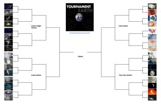 NASA Earth Observatory March Madness Bracket