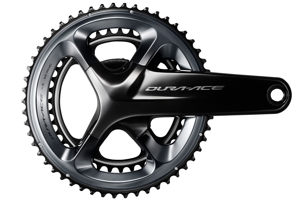 shimano dura-ace r9100 crankset with power meter