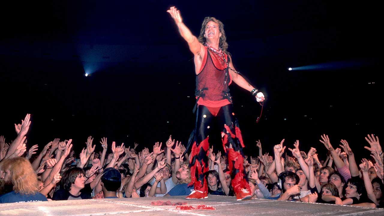What Happened When David Lee Roth Took Over Van Halen Louder