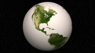 Earth's vegetation April 2012-2013