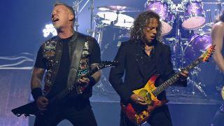 Metallica live in New York