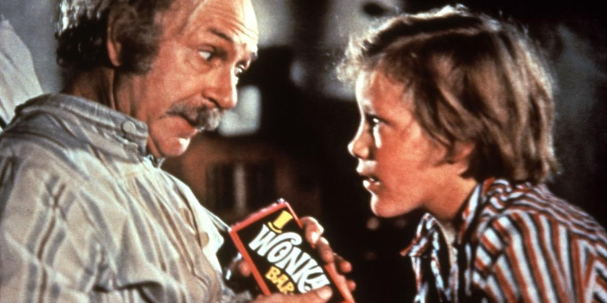 Jack Albertson, Peter Ostrum - Willy Wonka and the Chocolate Factory