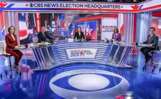 Norah O'Donnell and the CBS News team preparing for Election night