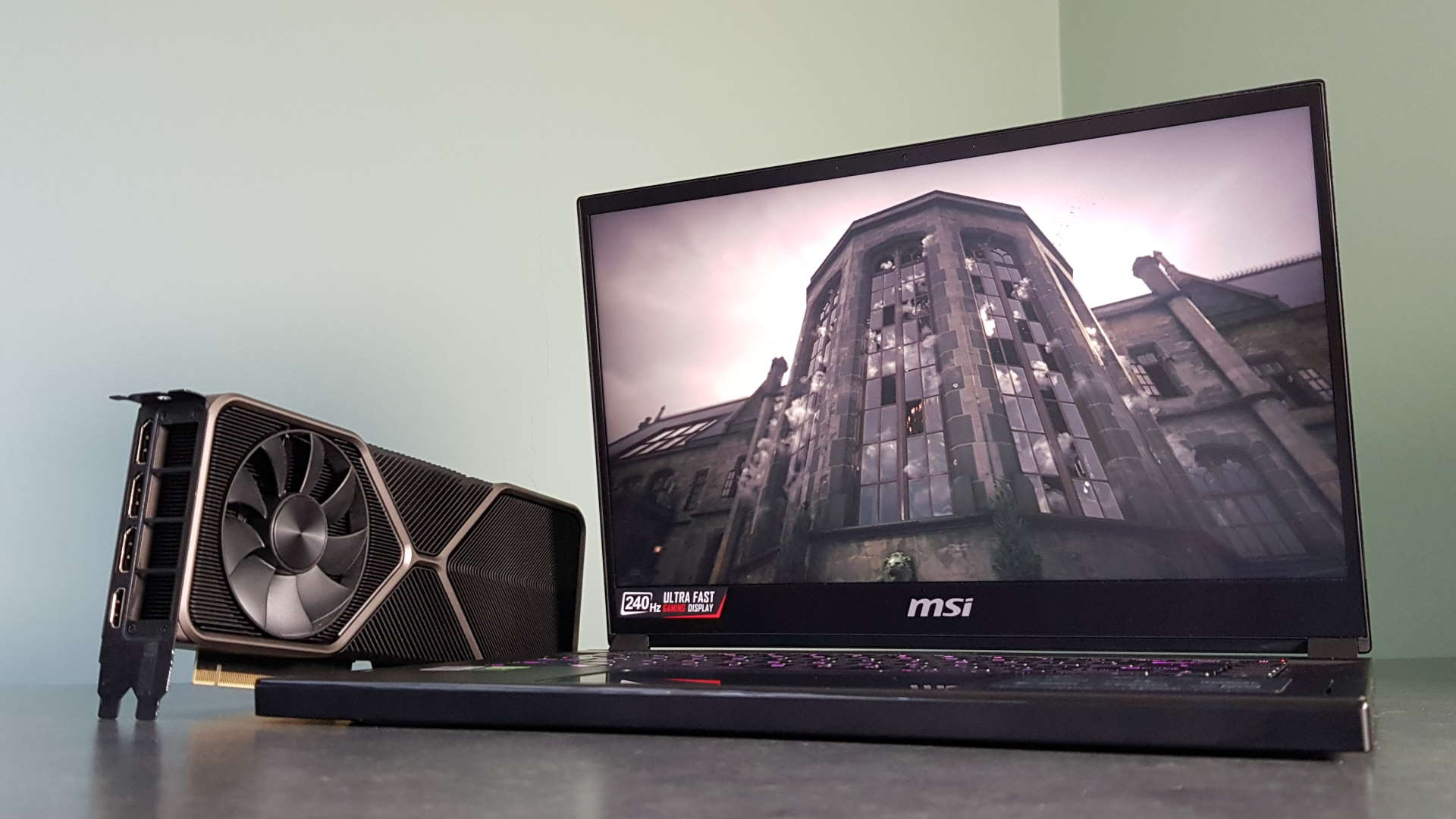 MSI GS66 Stealth RTX 3080 gaming laptop review