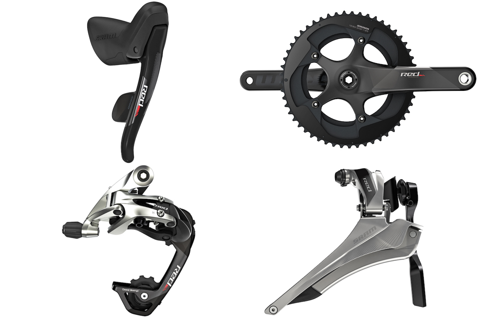 Thumbnail: World's lightest mechanical groupset gets a new look for 2016.