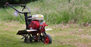 a tiller for your garden beds