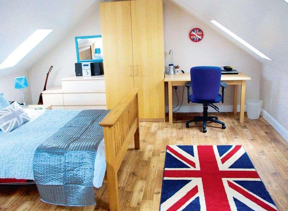 An Above Garage Loft Conversion Real Homes