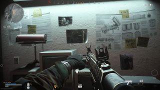 Warzone TV station shack code