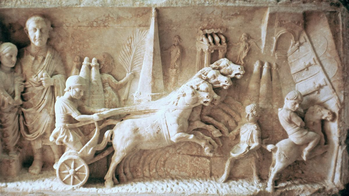 This Slave in Ancient Rome Became the Empire's Chariot-Racing Superstar