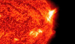 Sunspot AR1875 Major X1 Solar Flare