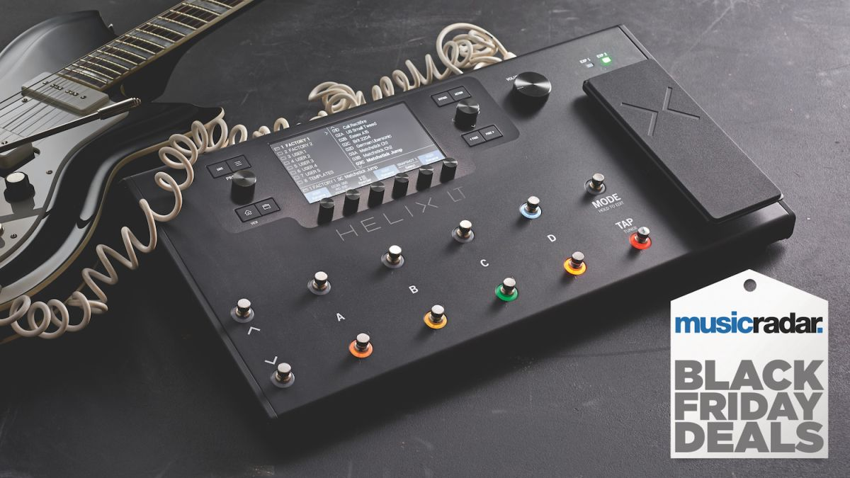 The best Line 6 Helix Black Friday deals: top prices on the Line 6 Helix, Helix LT, HX Stomp and HX Effects