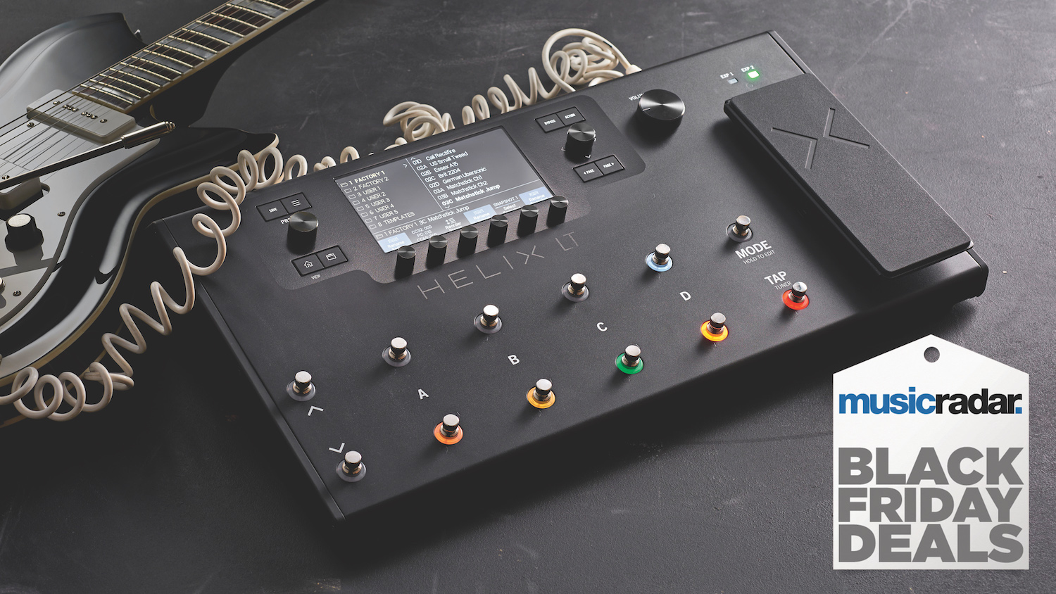 The Best Line 6 Helix Black Friday Deals Top Prices On The Line 6 Helix Helix Lt Hx Stomp And Hx Effects Musicradar