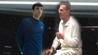 Leonard Nimoy Cried Watching New Star Trek Movie