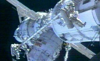 Extended EVA: Astronauts Make ISS Repairs in Long Spacewalk