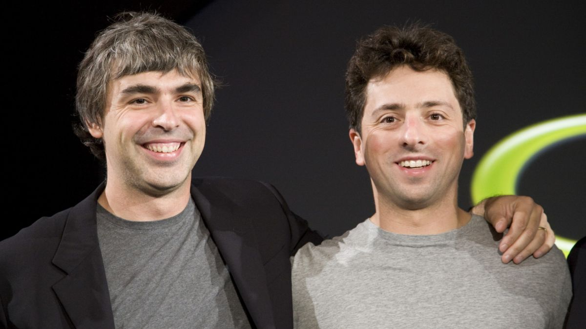Google co-founders Larry Page and Sergey Brin are now worth more than $100B each