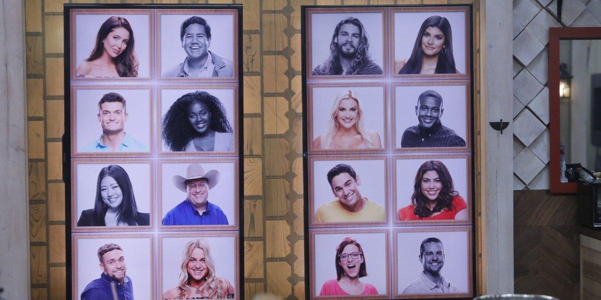 Big Brother 21 Memory Wall entering Week 7 2019 CBS