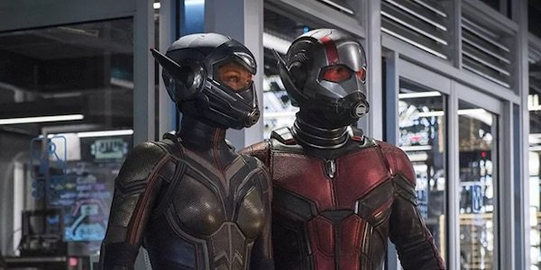 Hope and Scott in Ant-Man 2