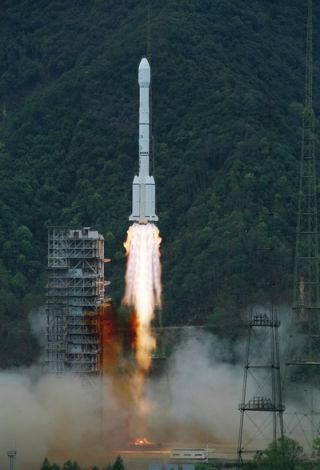 China' Long March 3B Rocket Launches