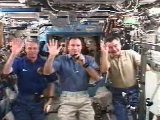 Space Station Crew Repairs Main Oxygen Generator