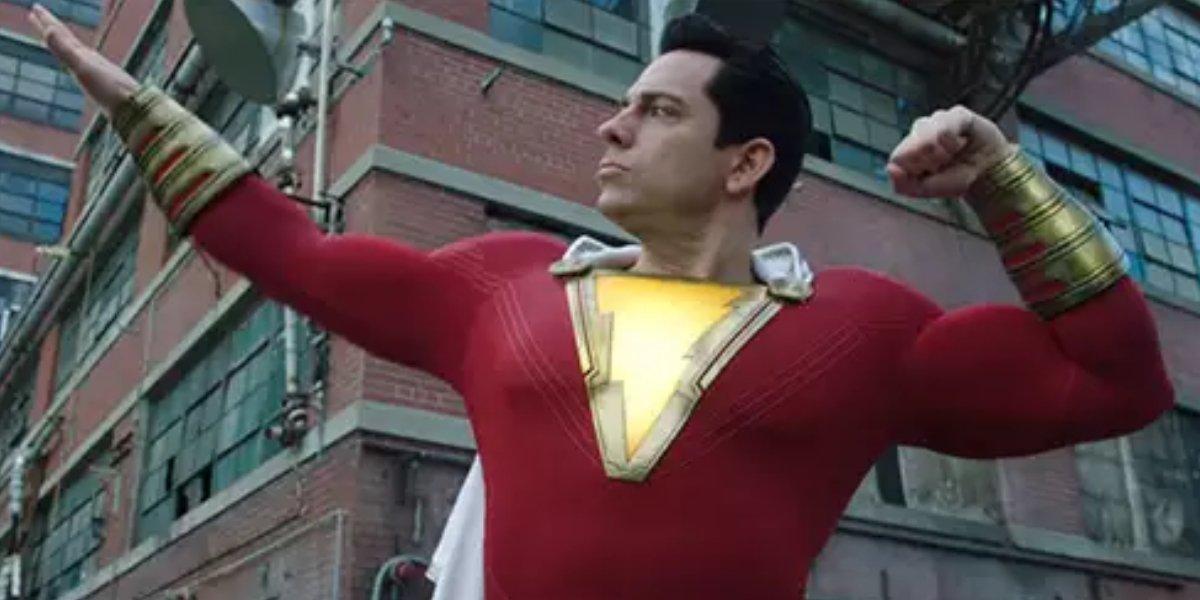 Zachary Levi as Billy Batson in Shazam!