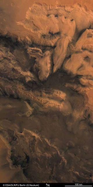 deepest canyon, Grand Canyon, Mariana Trench, Mars
