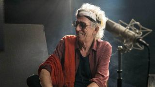 Keith Richards at the BBC