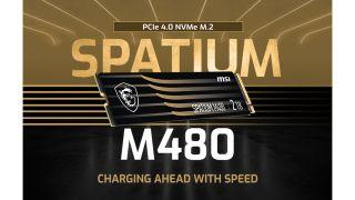MSI's Spatium SSD