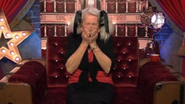 Angie Bowie in the Celebrity Big Brother house (REX Features)