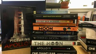 Get excited for the 50th anniversary of Apollo 11 with new space books!