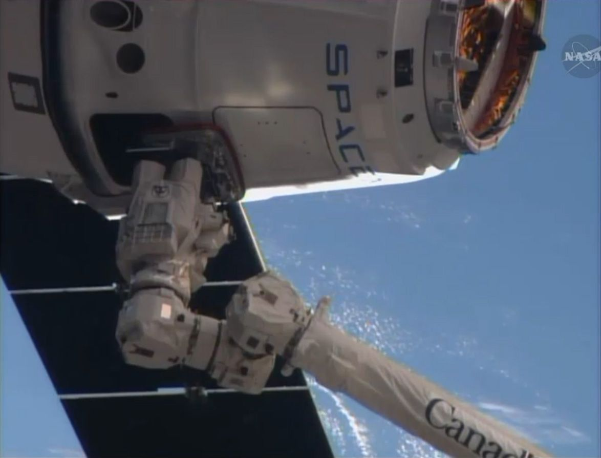 SpaceX Dragon Makes Easter Delivery at International Space