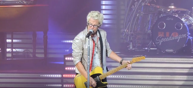 REO Speedwagon's Kevin Cronin on Gear, His Piano Skills and