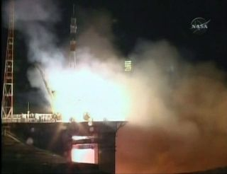 New Space Station Crew Blasts Off on Soyuz Spaceship
