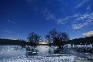 Geminid Meteor Soars Over French Creek State Park by Jeff Berkes