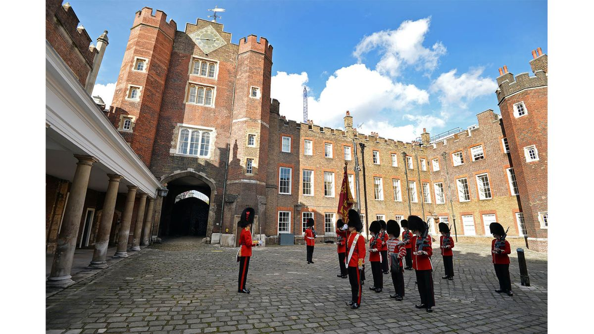 Explore all there is to know about the royals' London residence at St. James's Palace