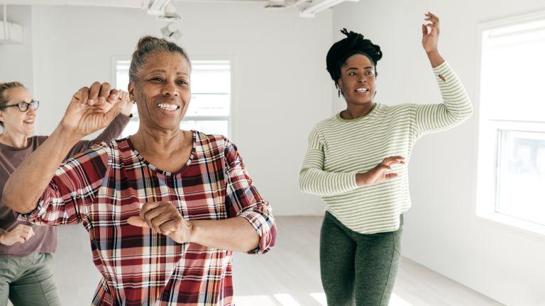 Postmenopausal women take up dance to build on self esteem