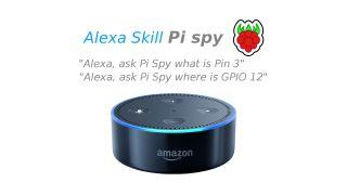 Alexa Pi Spy Skill