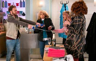 Coronation Street spoilers: David Platt causes a scene at the salon