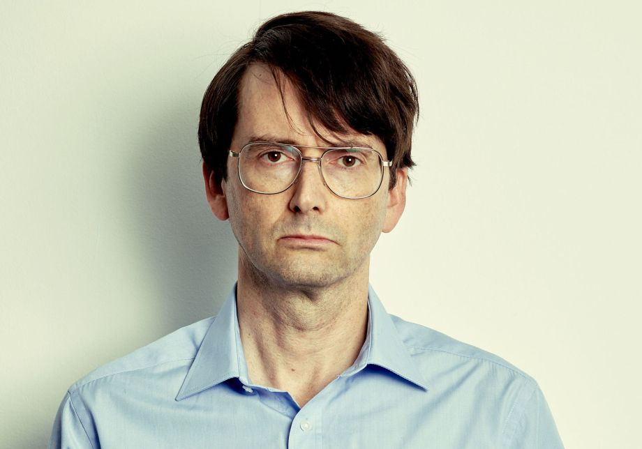 David Tennant as serial killer Dennis Nilsen in his new ITV drama