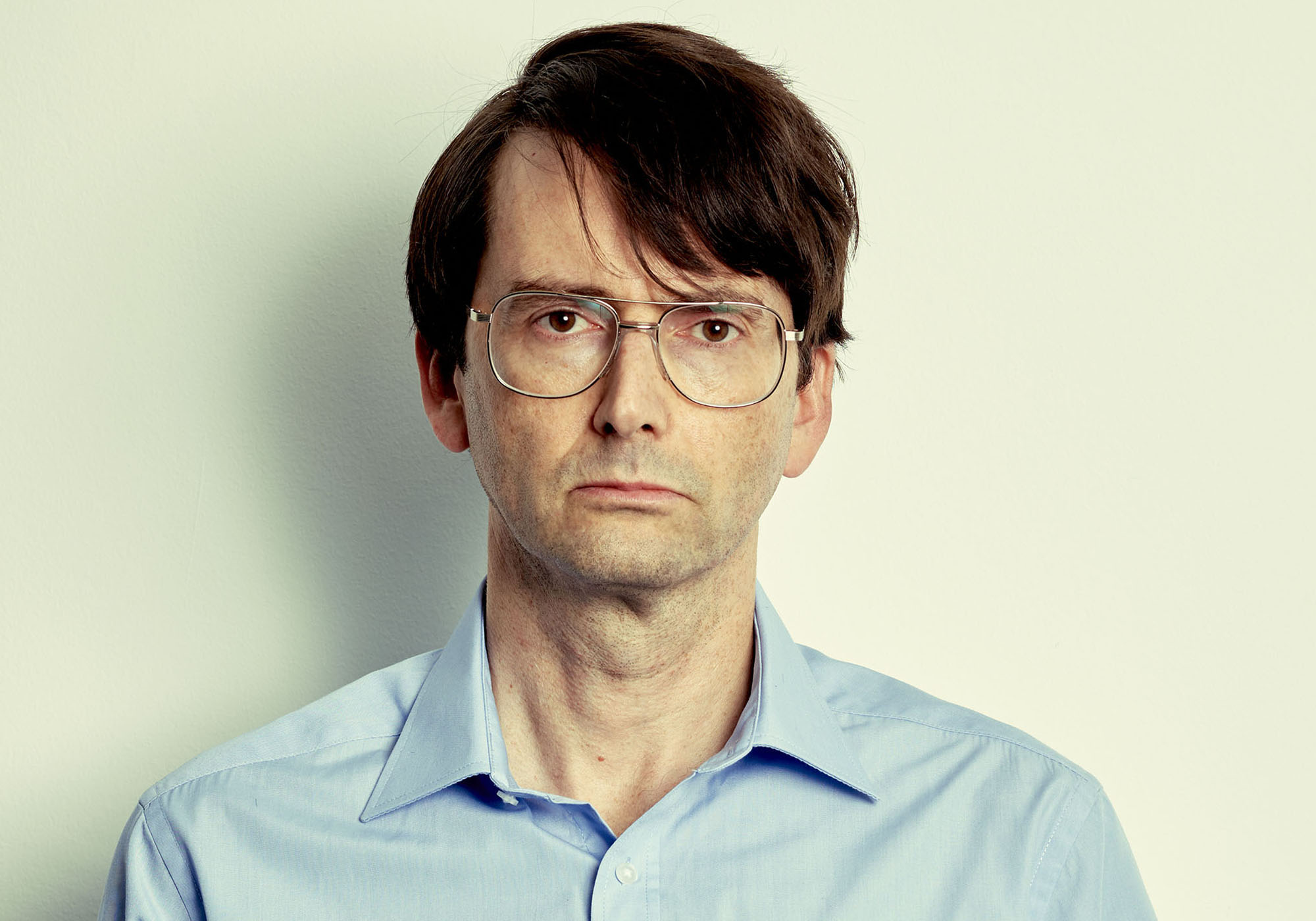 David Tennant looks CHILLING as he's transformed into serial killer Dennis Nilsen - first picture!