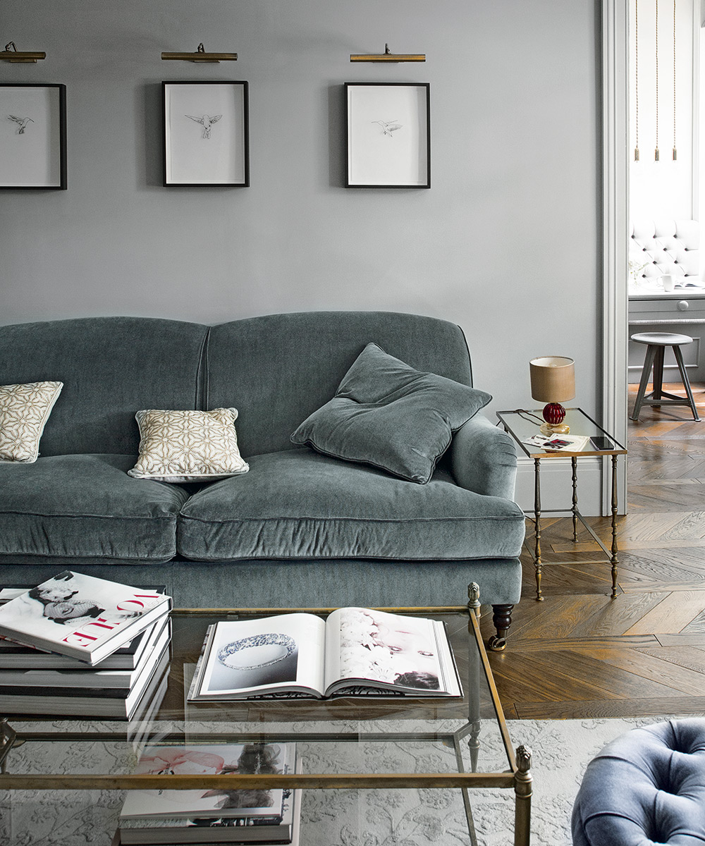 Grey living room ideas – for gorgeous neutral grey ...