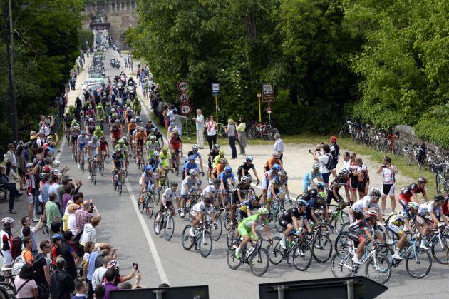 Peloton, Giro d'Italia 2013, stage 17