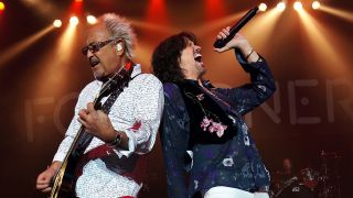 Foreigner's Mick Jones & Kelly Hansen